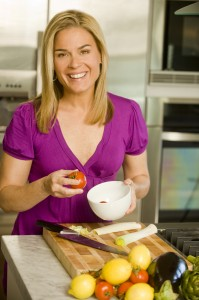 Freelance health writer Juliann Schaeffer interviews Cat Cora for a Get to Know article