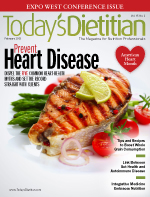 Freelance nutrition writer Juliann Schaeffer wrote this article about common heart disease myths, for Today's Dietitian magazine