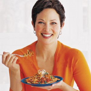 Freelance nutrition writer Juliann Schaeffer interviews Ellie Krieger for Get to Know article