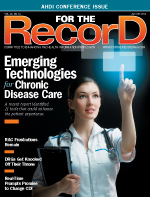 Freelance healthcare writer Juliann Schaeffer discusses emerging IT for chronic disease in this feature article for For The Record magazine