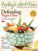 Freelance health writer Juliann Schaeffer interviews dietitians about different kinds of nutrition jobs