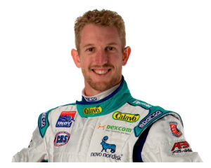 Philadelphia freelance writer Juliann Schaeffer interviews racecar driver Charlie Kimball about nutrition and diabetes